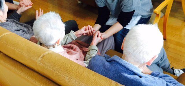 11月の介護施設アロマボランティア